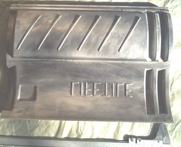 Concrete mold made from aluminum die casting