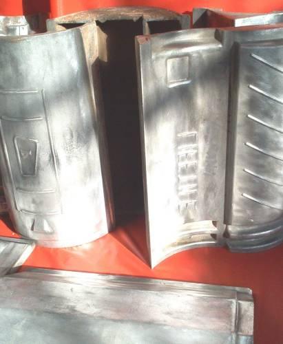 Aluminum die casting tile mold