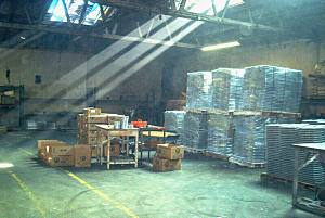 warehouse of roof tile molds