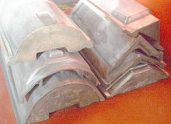 Die Casted Trim Roofing Tile Molds