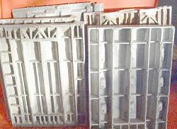 standing molds for roofs