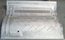 S-Tile Mold for Concrete Roofs