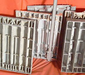 Aluminum plate die casting